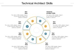 Technical Architect Skills Ppt Powerpoint Presentation Pictures Clipart Images Cpb