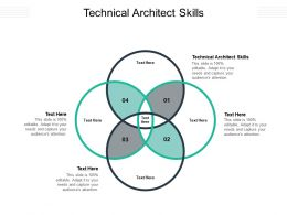 Technical Architect Skills Ppt Powerpoint Presentation Visual Aids Layouts Cpb