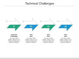 Technical Challenges Ppt Powerpoint Presentation Inspiration Icon Cpb