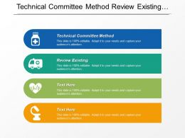 Technical Committee Method Review Existing Influence Diagrams Effective Policy