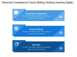 Technical Competence Future Skilling Working Hacking Digital Transformation
