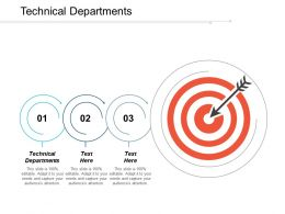 Technical Departments Ppt Powerpoint Presentation Icon Elements Cpb