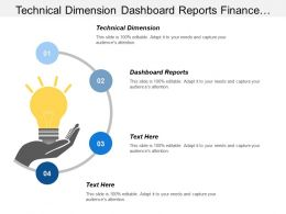 Technical Dimension Dashboard Reports Finance Accounting Safety Training