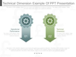Technical Dimension Example Of Ppt Presentation