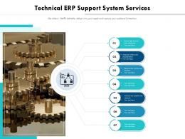 Technical ERP Support System Services