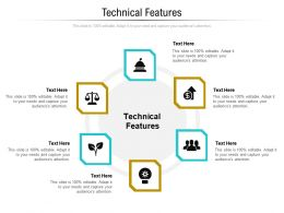 Technical Features Ppt Powerpoint Presentation Summary Example File Cpb