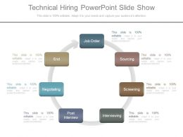 Technical Hiring Powerpoint Slide Show