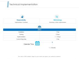 Technical Implementation Slide Ppt Powerpoint Presentation Summary Templates
