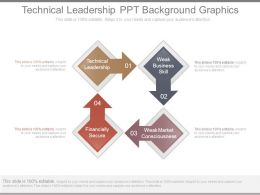 Technical Leadership Ppt Background Graphics
