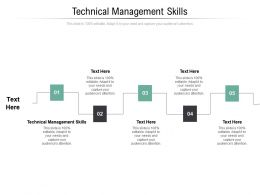Technical Management Skills Ppt Powerpoint Presentation Layouts Gridlines Cpb