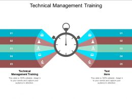 Technical Management Training Ppt Powerpoint Presentation Gallery Visuals Cpb
