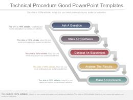 Technical Procedure Good Powerpoint Templates