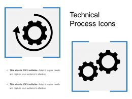 Technical Process Icons