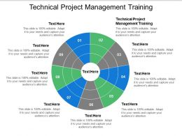 Technical Project Management Training Ppt Powerpoint Presentation Icon Example Cpb