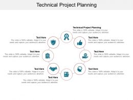 Technical Project Planning Ppt Powerpoint Presentation Clipart Cpb