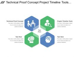 Technical Proof Concept Project Timeline Tools Submittal Approval