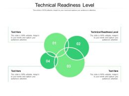 Technical Readiness Level Ppt Powerpoint Model Designs Download Cpb