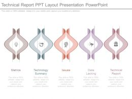 Technical Report Ppt Layout Presentation Powerpoint
