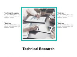 Technical Research Ppt Powerpoint Presentation Slides Designs Download Cpb