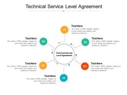 Technical Service Level Agreement Ppt Powerpoint Presentation Samples Cpb