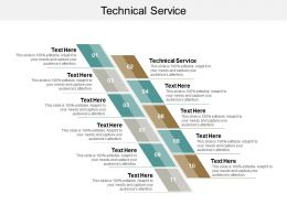 Technical Service Ppt Powerpoint Presentation Slides Gallery Cpb