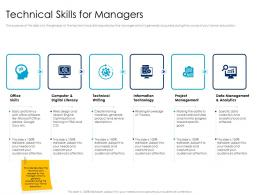 Technical Skills For Managers Leaders Vs Managers Ppt Powerpoint Presentation Pictures Brochure