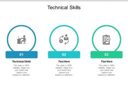 Technical Skills Ppt Powerpoint Presentation Ideas Design Templates Cpb