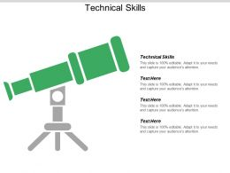 Technical Skills Ppt Powerpoint Presentation Show Picture Cpb