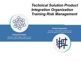 Technical Solution Product Integration Organization Training Risk Management