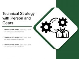 Technical Strategy With Person And Gears