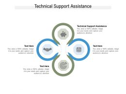 Technical Support Assistance Ppt Powerpoint Presentation Outline Graphics Cpb