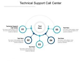 Technical Support Call Center Ppt Powerpoint Presentation Outline Gallery Cpb