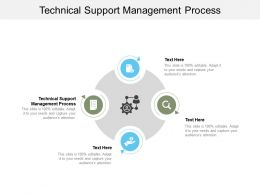 Technical Support Management Process Ppt Powerpoint Presentation Slides Cpb