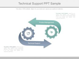 Technical Support Ppt Sample