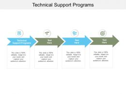 Technical Support Programs Ppt Powerpoint Presentation Slides Gallery Cpb