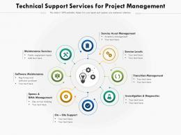 Technical Support Services For Project Management