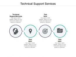 Technical Support Services Ppt Powerpoint Presentation File Themes Cpb