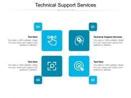 Technical Support Services Ppt Powerpoint Presentation Portfolio Format Ideas Cpb