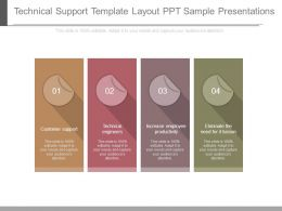 Technical Support Template Layout Ppt Sample Presentations