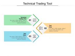 Technical Trading Tool Ppt Powerpoint Presentation Outline Layout Cpb