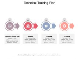 Technical Training Plan Ppt Powerpoint Presentation Outline Design Ideas Cpb