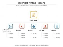 Technical Writing Reports Ppt Powerpoint Presentation Ideas Smartart Cpb
