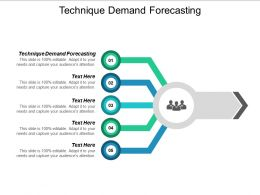 Technique Demand Forecasting Ppt Powerpoint Presentation Ideas Deck Cpb