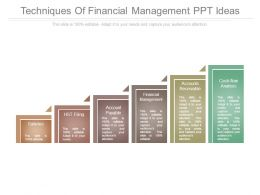 Techniques Of Financial Management Ppt Ideas