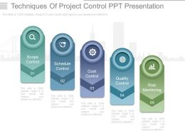 Techniques Of Project Control Ppt Presentation