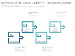 Techniques Of Risk Control Diagram Ppt Background Graphics