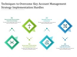 Techniques To Overcome Key Account Management Strategy Implementation Hurdles
