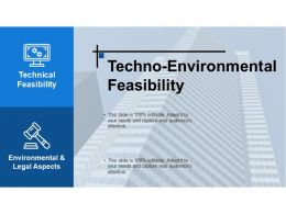 Techno Environmental Feasibility Ppt Examples