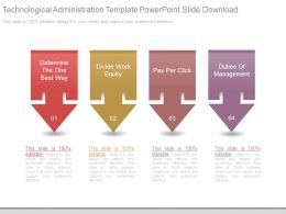 Technological Administration Template Powerpoint Slide Download