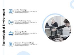 Technological Environment Development Budget Planning Ppt Powerpoint Presentation Summary